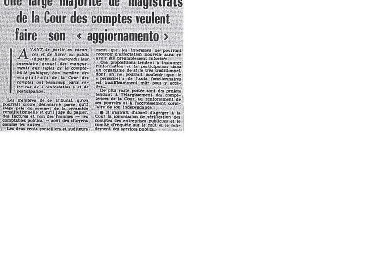 « Mai 1968 » à La Cour Des Comptes à Paris 1er