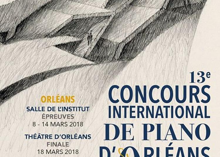 Lauréats du Concours International de piano d'Orléans 2018 à Paris 10ème