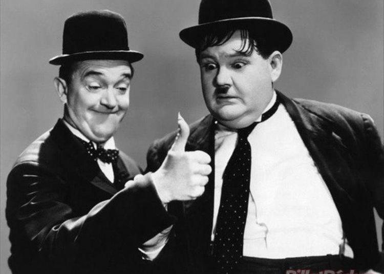 Laurel Et Hardy, Premiers Coups De Génie à Enghien les Bains