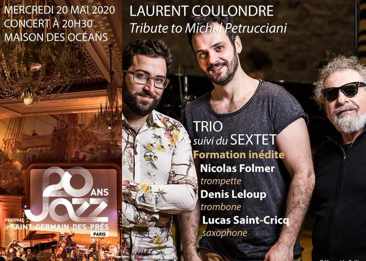 Laurent Coulondre Tribute to Michel Petrucciani @ Festival Jazz à Saint-Germain-des-Prés Paris à Paris 5ème