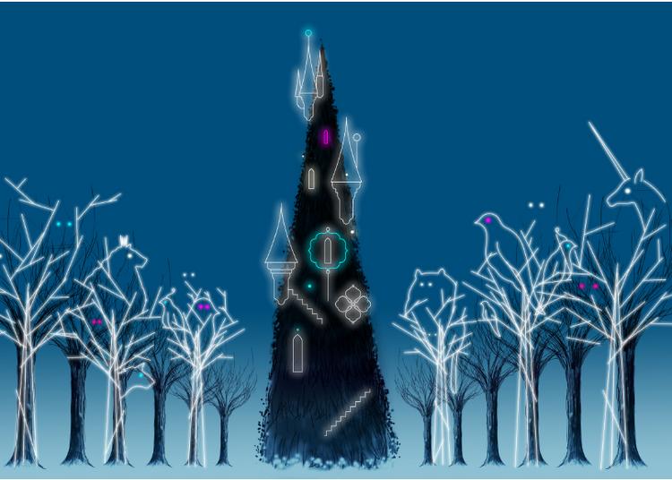 Laurent Sanguinetti illumine Bercy Village pour les fêtes de fin d'année à Paris 12ème