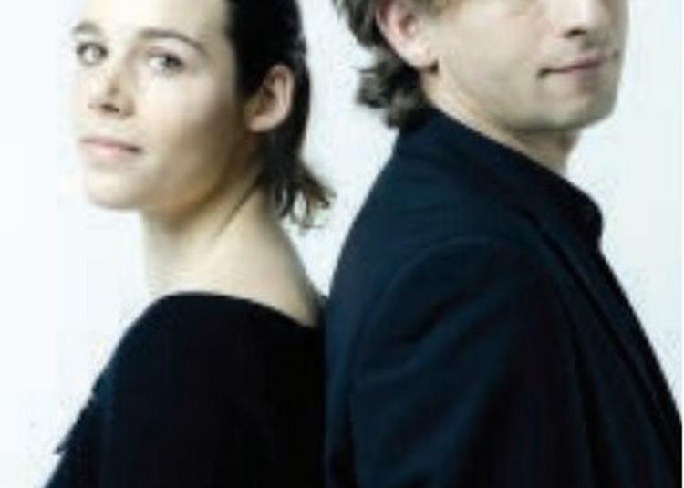 Laurent Wagschal et Elise Kermanac'h à Landivisiau