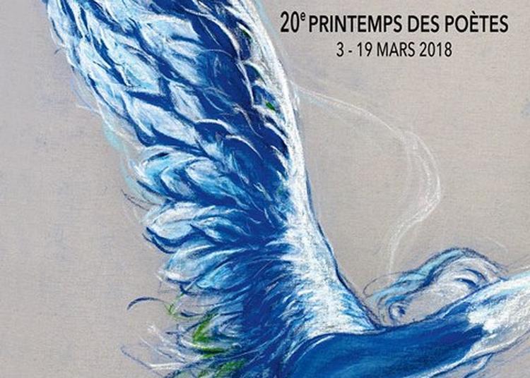 Le 20ème Printemps des Poètes à Monteux