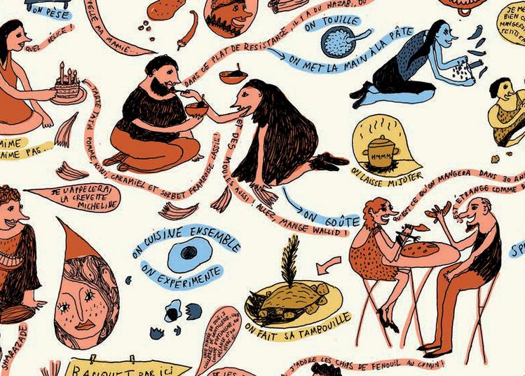 Le banquet d'avenir - La Générale d'Imaginaire à Vieux Conde