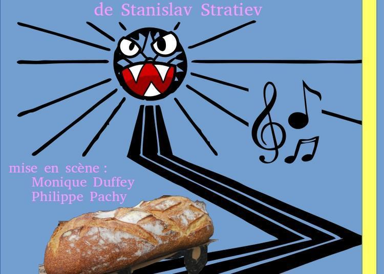 Le Bus de Stanislav Stratiev par la Cie La Vie en Relief. à Barberaz