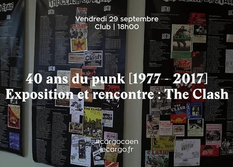 40 ans du punk - Exposition et rencontre : The Clash à Caen