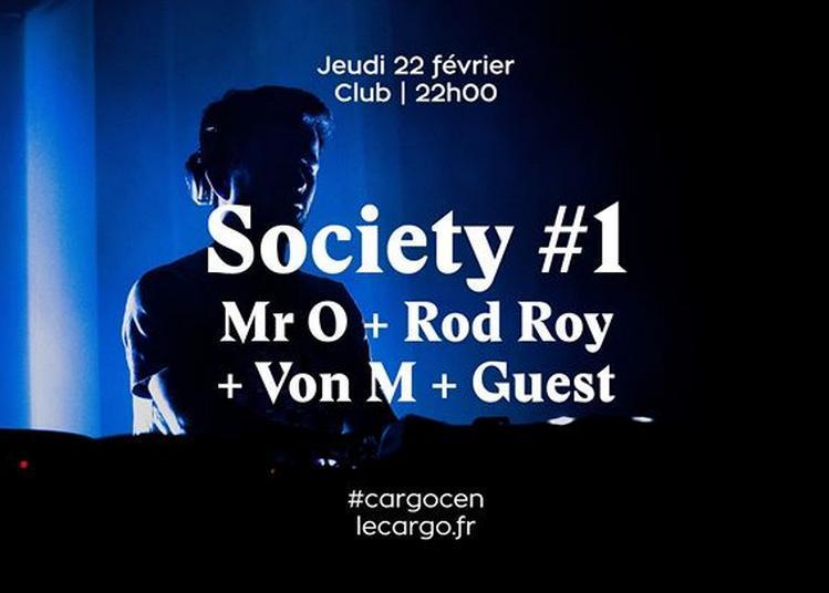 Le Cargö | Society#1 : Mr O x Rod Roy x Von M x Twoeyes à Caen