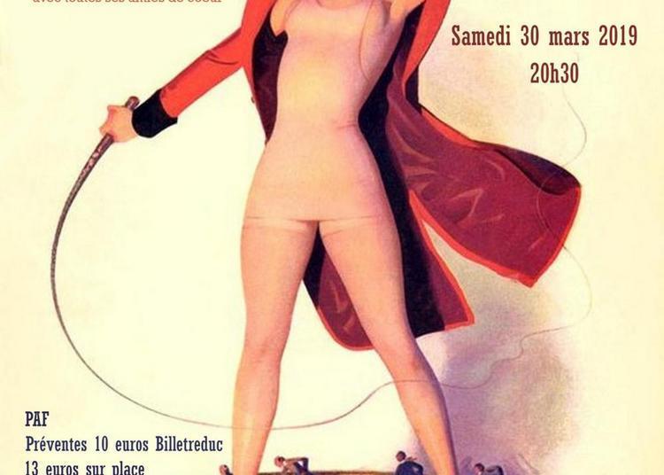 Le cercle des femmes très bien cabaret scarlett sanglier à Paris 11ème