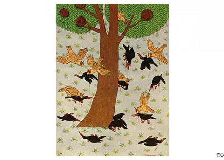 Le Chant De L'oiseau Amphibie De Wajdi Mouawad à Paris 20ème