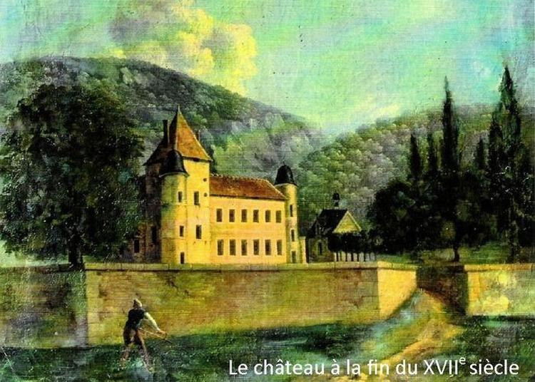 Le Château D'alone-toulongeon à La Chapelle Sous Uchon