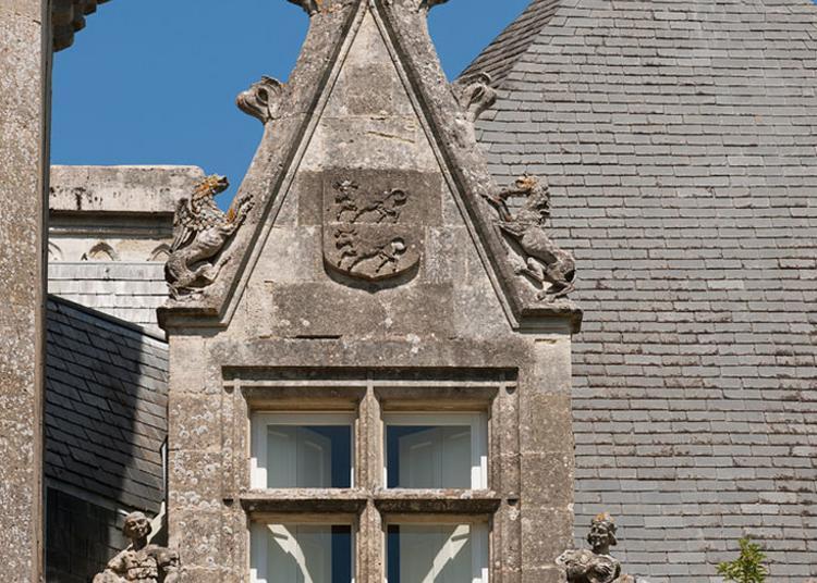 Le Château Lagrange, Un Manifeste Néogothique En Blayais à Blaye