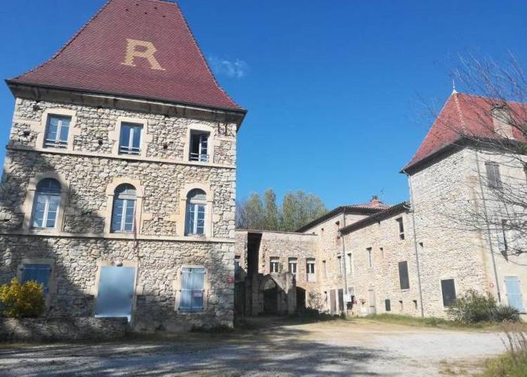 Le Château Pergaud, Ferme-école Du XIXe Siècle à Allex