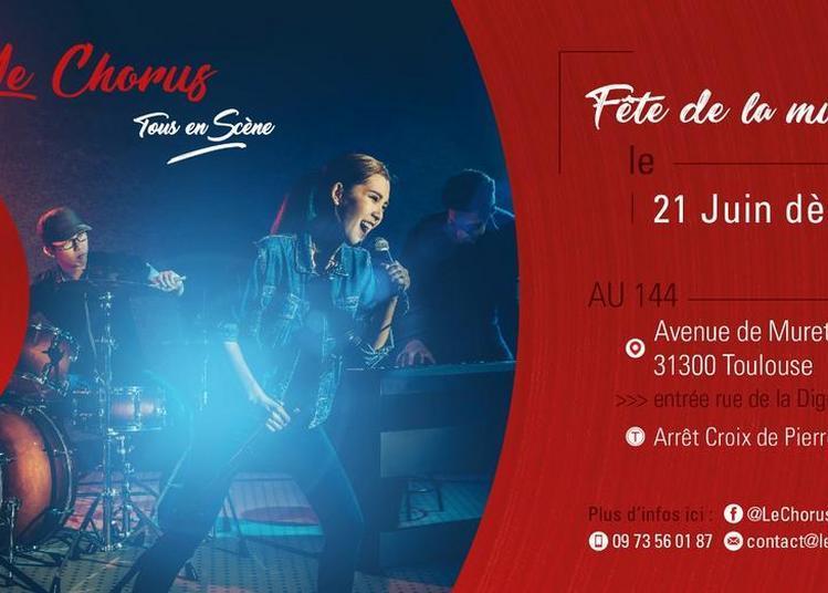 Le Chorus Fête la musique à Toulouse