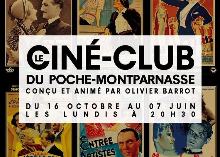 Le Ciné-club du Poche Montparnasse à Paris 6ème