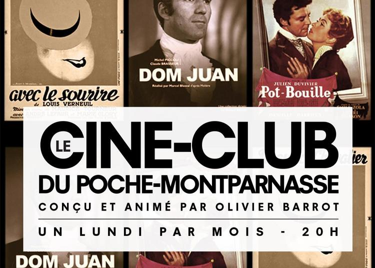 Le Ciné-club du Poche-Montparnasse à Paris 6ème