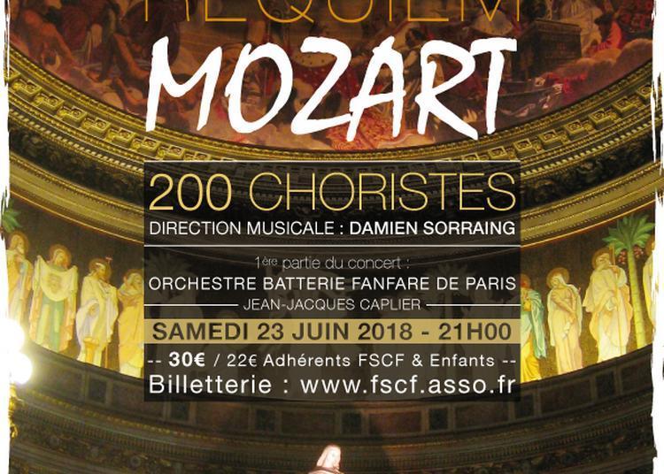 Le concert des 120 ans de la Fédération Sportive et Culturelle de France (FSCF) à Paris 8ème