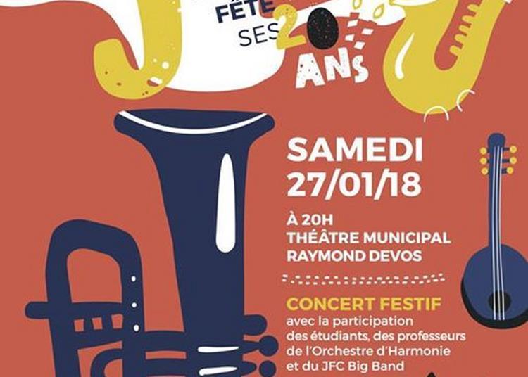 Le Département Jazz fête ses 20ans à Tourcoing