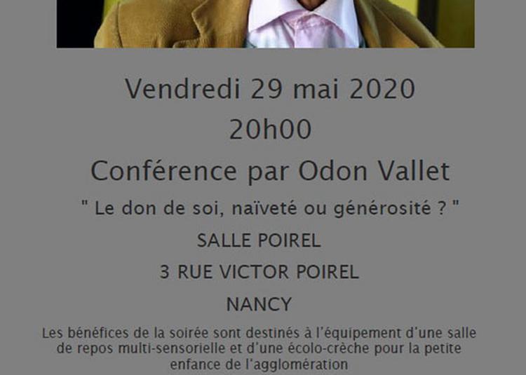 Le Don De Soi : Generosite,naivete? à Nancy