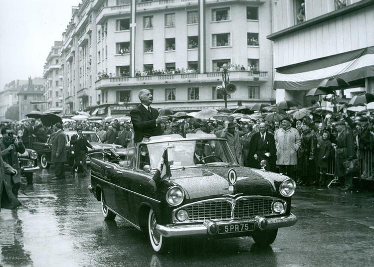 Le Général De Gaulle Et Les Départements Savoyards, 1937-1965 à Chambery