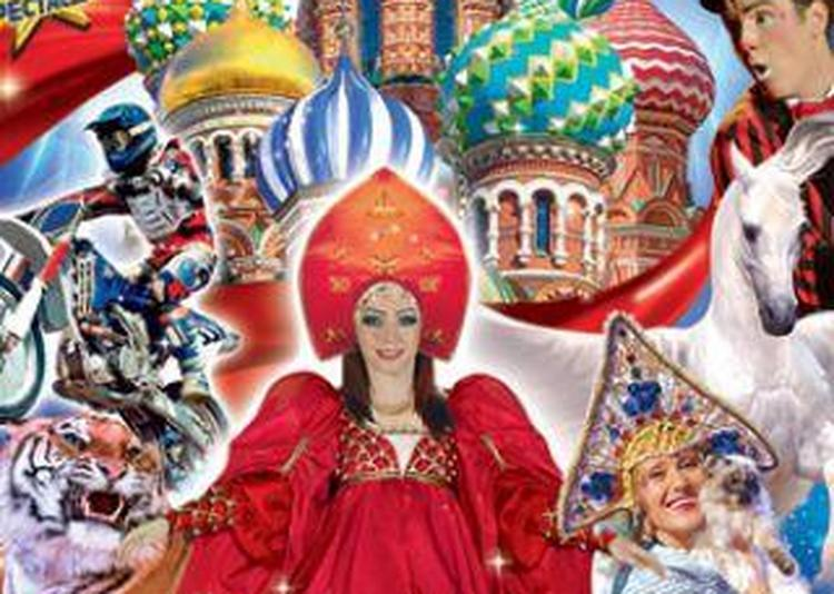 Le Grand Cirque St-Petersbourg Légende à Metz