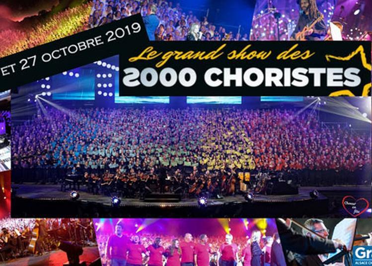 Le Grand Show Des 2000 Choristes à Amneville