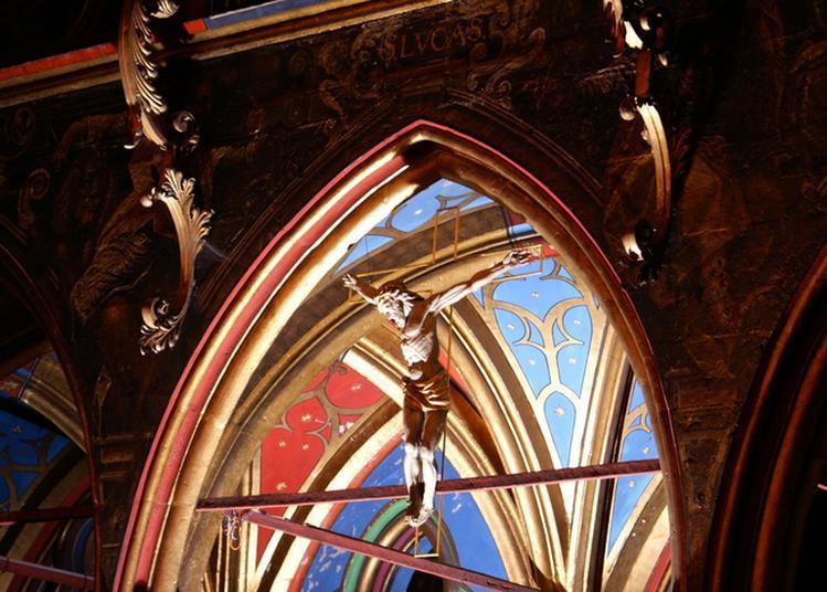 Le Jubé Et Son Histoire De L'église Saint-pierre-le-jeune à Strasbourg