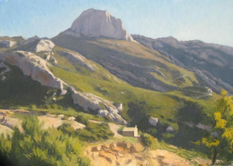 Le massif de la Sainte Baume, peintures de Jean Tognetti, dans le cadre des journées du patrimoine à Plan d'Aups sainte Baume