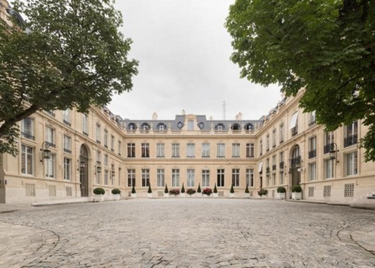 Le Ministère De L'intérieur Ouvre Ses Portes Au Public à Paris 8ème