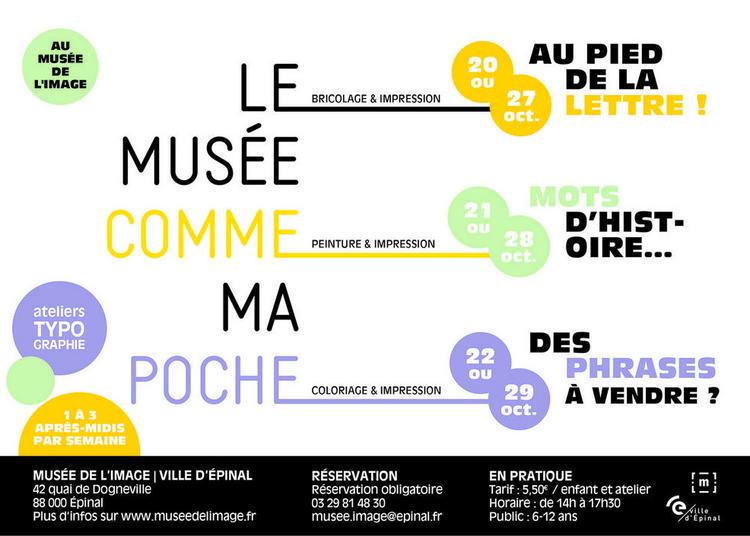 Le musée comme ma poche à Epinal
