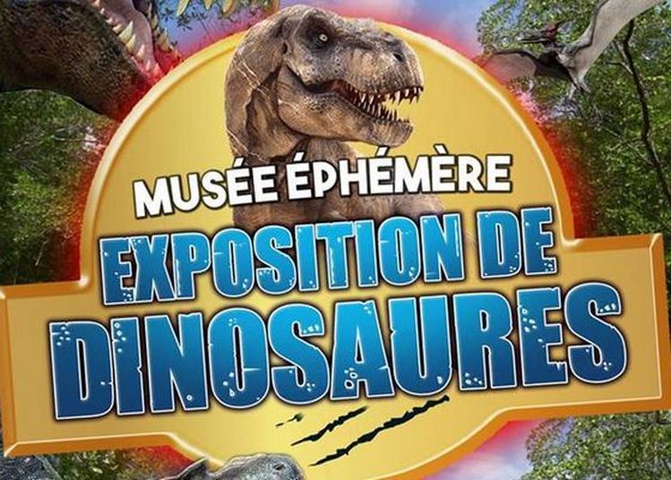 Le Musée Ephémère: Exposition de dinosaures à Saint Chely d'Apcher