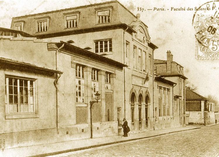 Le Pavillon Curie, Rue Cuvier à Paris 5ème