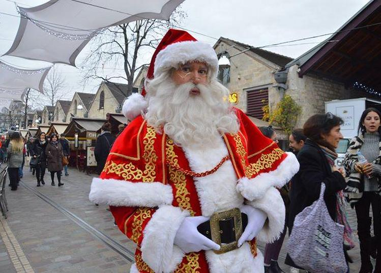 Le Père Noël à Bercy Village à Paris 12ème