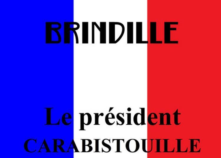 Le président Carabistouille à Paris 8ème