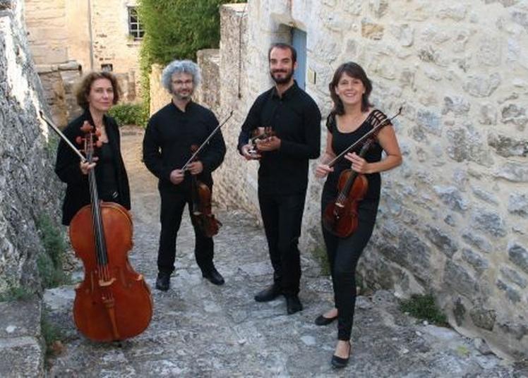 Le Quatuor Lugha joue Mozart à Paris 10ème