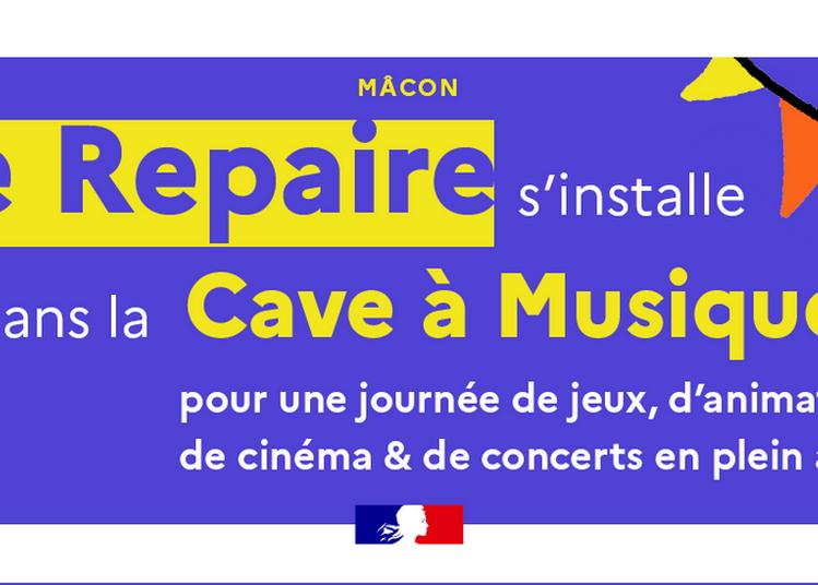 Le Repaire Fête La Zik À La Cave ! à Macon