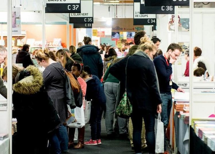 Le Salon Du Livre Et De La Presse Jeunesse En Seine-saint-denis à Montreuil