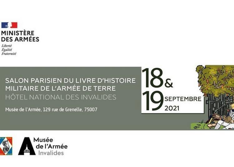 Le Salon Parisien Du Livre D'histoire Militaire à Paris 7ème