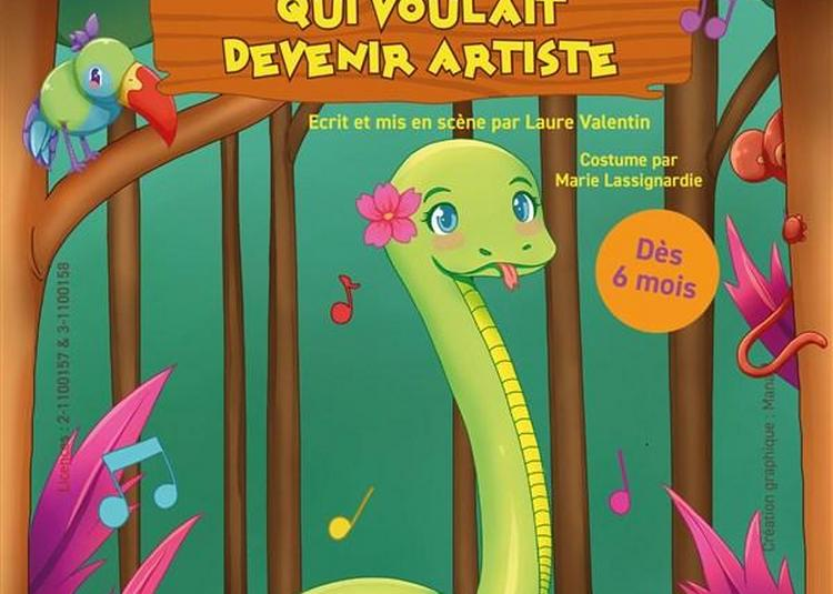 Le Serpent Qui Voulait être Artiste à Cugnaux