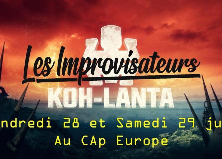 Le Show des Improvisateurs : Spécial Koh-Lanta à Strasbourg