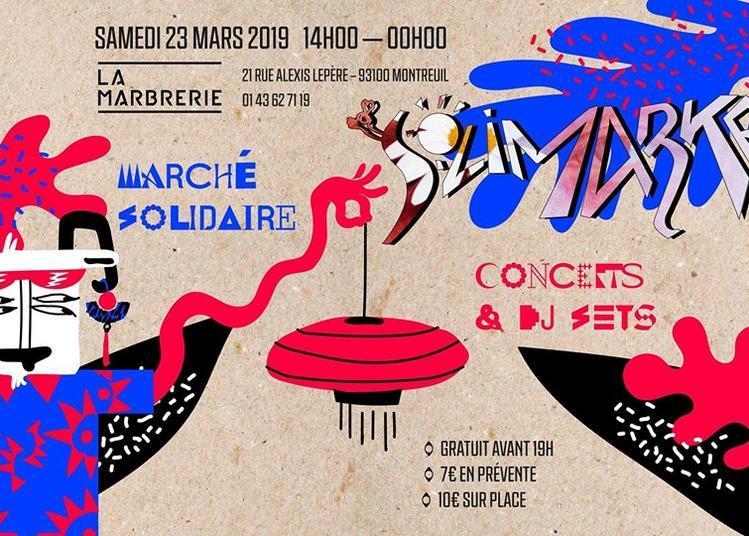 Le Solimarket du Bercail w/ Apaache & Curuba à Montreuil