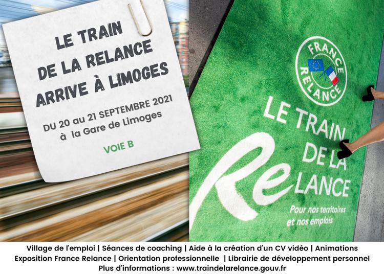 Le Train de la Relance à Limoges