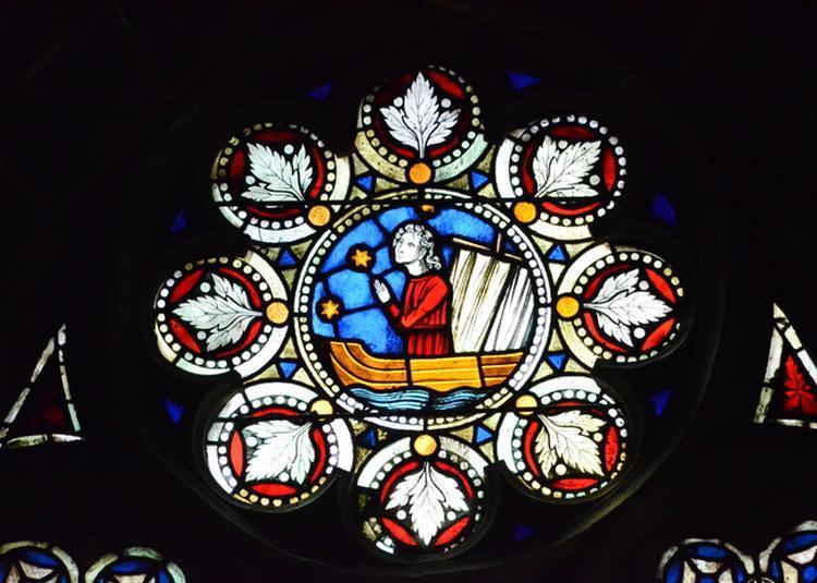 Lecture à L'église Protestante Saint-pierre-le-jeune à Strasbourg