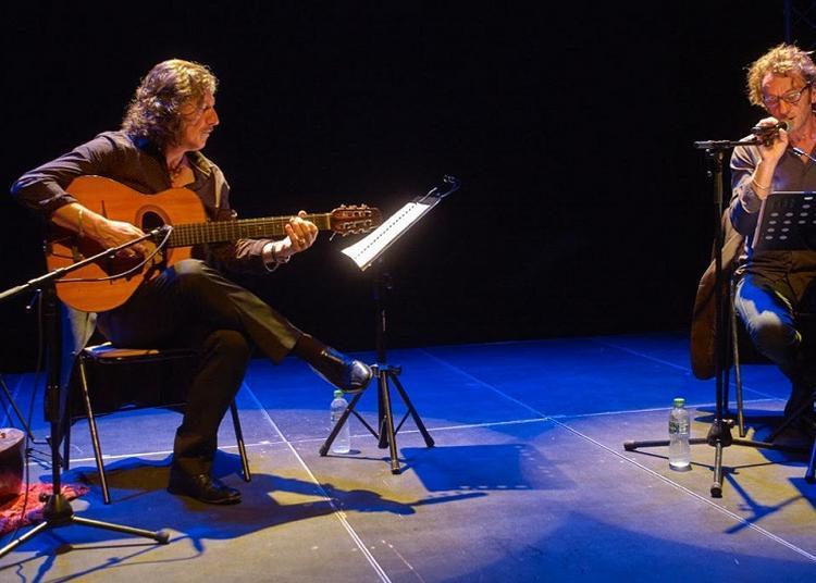 Lecture-concert « Laissez-moi seul » avec Rémi Checchetto & Thierry « Titi » Robin à Saint Macaire