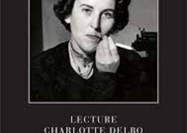 Lecture Spectacle « Hommage à Charlotte Delbo » Par La Compagnie Les 3 Coups L'oeuvre à Wizernes