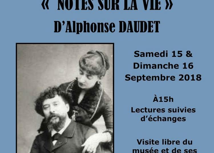 Lectures Notes Sur La Vie. à Auriolles