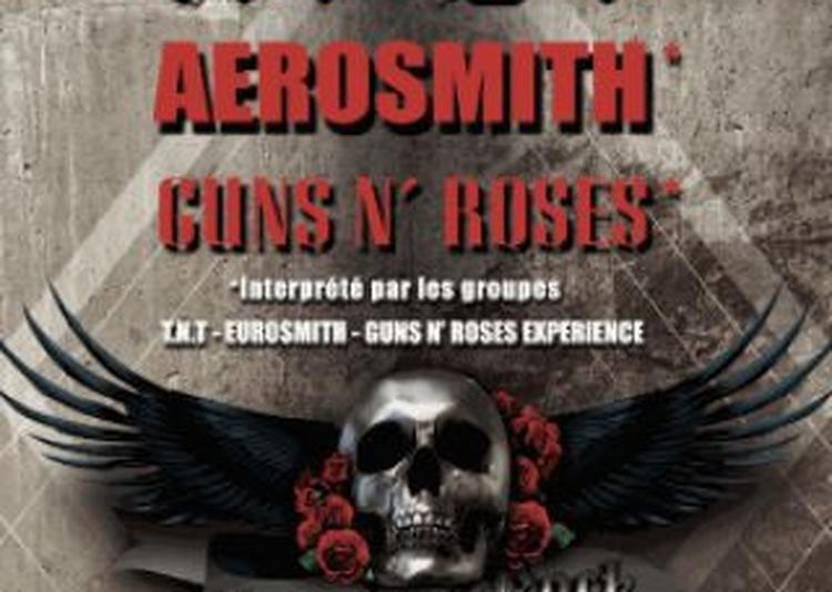 LEGENDS OF ROCK (AC/DC, Guns, Aerosmith) à Le Havre