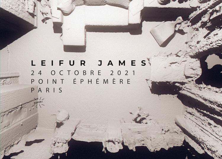 Leifur James à Paris 10ème
