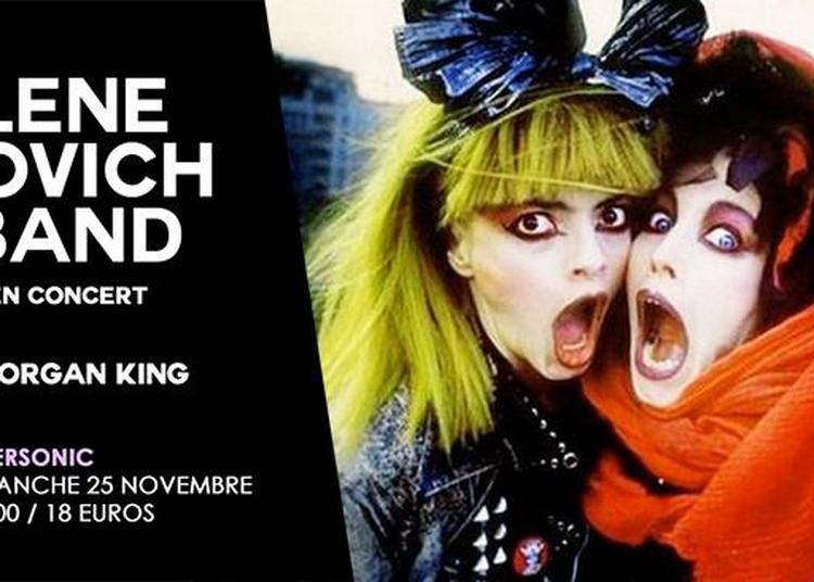 Lene Lovich Band (80s Wave,UK) - Morgan King à Paris 12ème