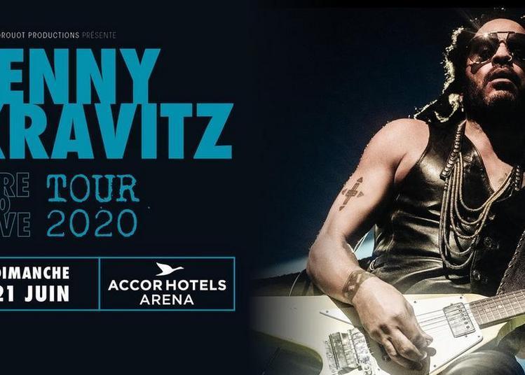 Lenny Kravitz à Paris 12ème