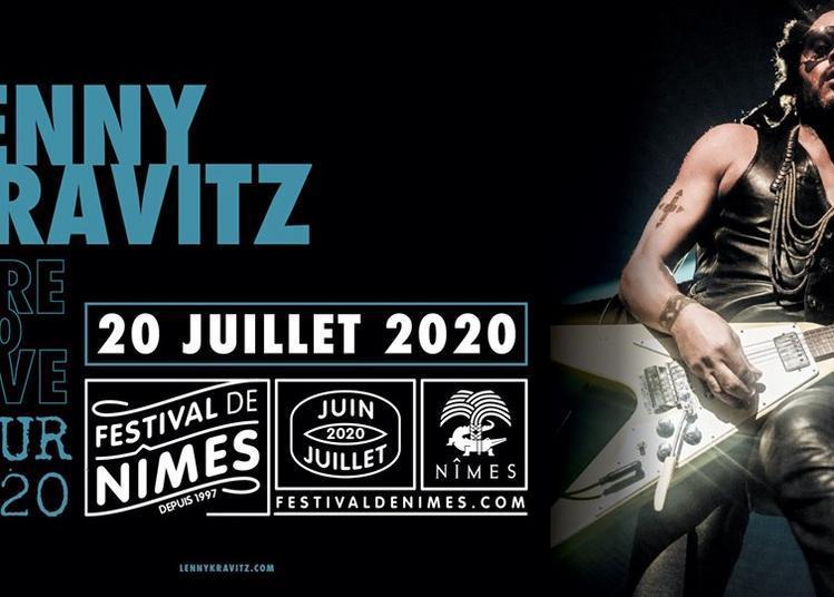 Lenny kravitz - Here to Love Tour à Nimes